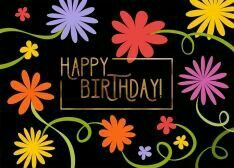 This modern birthday card is perfect for your trendiest customers or staff on their special day. Shop for Birthday Greeting Cards today! First Birthday Party Favor, Birthday Wishes For Kids, Happy Birthday Text, Happy Birthday Wallpaper, Birthday Cheers, Birthday Blessings, Happy Birthday Pictures, Birthday Wishes Cards, Happy Birthday Messages