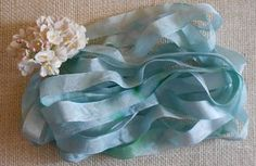 Hand Dyed Seam Binding Giveaway at Artisan Whimsy (link to the giveaway is in my blog post)