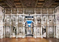 Teatro Olimpico Vicenza II by Candida Höfer - #photography #art