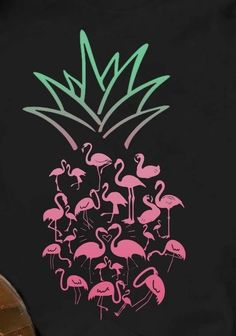 Cute Wallpapers, Wallpaper Backgrounds, Iphone Wallpaper, Flamingo Decor, Pink Flamingos, Pineapple Wallpaper, Deco Rose, Flamingo Wallpaper, Silhouette Cameo Projects
