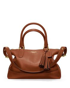 COACH Legacy Leather Molly Satchel | Bloomingdale's