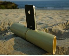 iBamboo Speaker, eco friendly but more importantly it looks cool as shit!