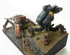 Walking Tanks Diorama