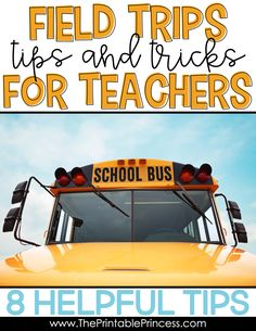 Field trips are never stress free. But planning field trips for your Prek, Kindergarten, or First Grade classroom can be less stressful and more organized with a few basic tips and strategies. It's important that you are prepared, your chaperones are prepared, and that you've established rules and routines with your students before you leave. Click through to read more tips and tricks before you leave on your next field trip! You'll also find some words of advice for during the trip and when you