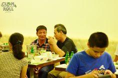 https://www.flickr.com/photos/cuonnroll/albums/72157647981601866 Cuốn N Roll tổ chức sinh nhật bé Minh Đăng ngày 21.09.14