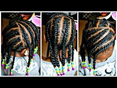 Mousse for Braided Hairstyles In 2020 Quick Braids Using My White Chocolate Styling Mousse Lil Girl Hairstyles, Black Kids Hairstyles, Natural Hairstyles For Kids, Kids Braided Hairstyles, Quick Hairstyles, Natural Hair Styles, Toddler Hairstyles, Teenage Hairstyles, Weave Hairstyles