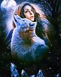 Native American Wolf, Native American Pictures, Native American Artists, American Women, American Indians, American History, Wolf Images, Wolf Pictures, Angel Pictures