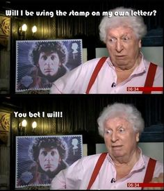 And then there was Tom Baker my first doctor when I wasyoung and got me hooked. anyone want a jelly baby