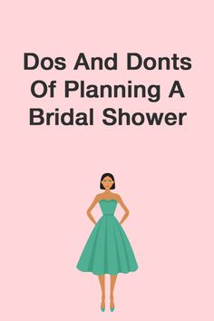 Find out the dos and donts of planning a bridal shower on SHEfinds.com.