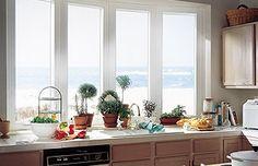 Types of Bay Windows | Kitchen Windows - Garden Windows Vinyl Replacement Window