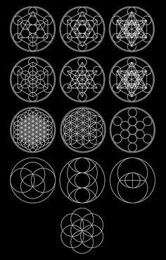 13 Circles [White] | Sacred Geometry