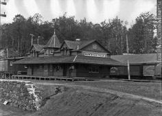 Gare du Grand Nord-Shawinigan Falls-1902-1929 by J-Bellemare