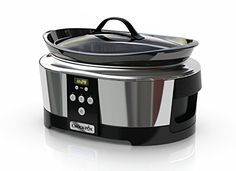 Crockpot SCCPBPP605 Next Generation Slow Cooker 57 L Silver 220 Volts  Not for USA >>> BEST VALUE BUY on Amazon #KitchenAppliances