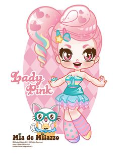 Lady Pink by mimiloverwomen.deviantart.com on @deviantART