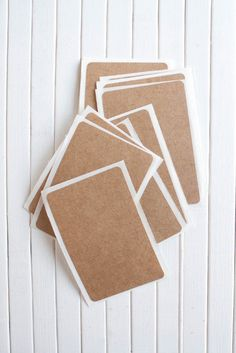 Brown bag, Kraft labels