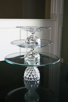 Nature's Heirloom: Tiered Cupcake Stand...