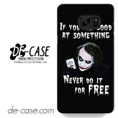 Joker Quotes DEAL-5943 Samsung Phonecase Cover For Samsung Galaxy Note 7