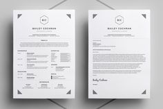 Resume/CV - Bailey - Resumes - 2