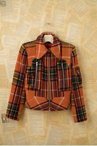 Vintage Plaid Motorcross Coat at Free...    $748.00
