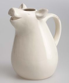 Another great find on #zulily! Smiling Pig Pitcher #zulilyfinds