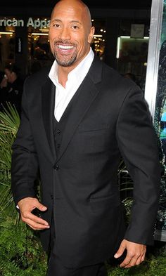 Dwayne Johnson....My baby's daddy.......really.......<3