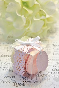 Shower Favors  French Macaron Favor Boxes  by IndayaniBakedGoods, $180.00