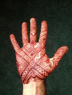 men henna design