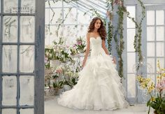 New gorgeous Mori Lee gown has arrived this afternoon Mori Lee, Gowns, Wedding Dresses, Madeline Gardner, Fashion, Vestidos, Bride Dresses, Moda, Dresses