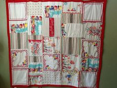 Grandma's linens by Worthquilts on Etsy, $200.00  The linen quilts wear and feel the best, even after years of washing