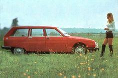 Citroen GS jaren 70