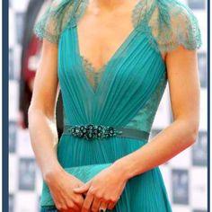 Beautiful teal dress