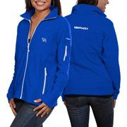 Columbia Kentucky Wildcats Ladies Give and Go Fleece Full Zip Jacket - Royal Blue  #Fanatics
