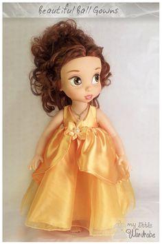 Disney Animator Doll Clothes  Yellow Ball by MyLittleWardrobeWear