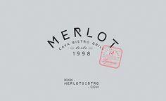 Merlot Tijuana on Behance #logo