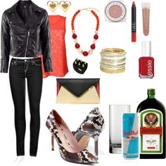 """""""Bar time"""" by metrobasics ❤ liked on Polyvore"""