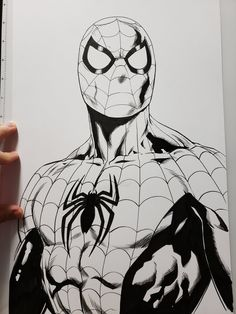 The Marvel(ous) Art Of Jason Fabok Rare Comic Books, Comic Books Art, Comic Art, Spiderman Kunst, Spiderman Drawing, Marvel Drawings, Cartoon Drawings, Art Drawings, Comic Kunst