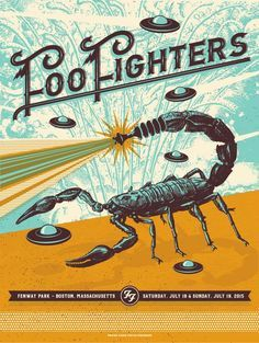 Sick Foo Fighters Poster!
