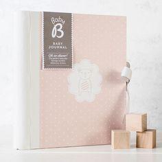 Busy B Baby Girl Journal | GettingPersonal.co.uk