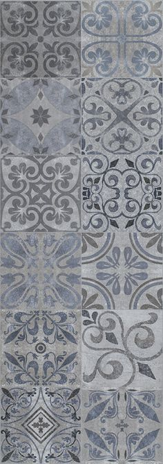 MOSAICOS Y DECORADOS - ANTIQUE BLUE 31,6X90 - 100145532