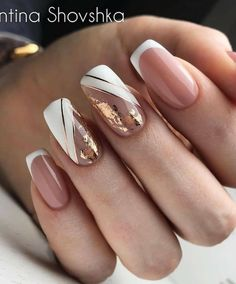 2019 2020 novelty and trends in manicure page 63 of 119 Gel Nail Designs . - 2019 2020 novelty and trends in manicure page 63 of 119 Gel Nail Designs 2020 Gallery 2019 2 - Nude Nails, White Nails, My Nails, Acrylic Nails, Gel Nail, Gel Manicure, Coffin Nails, Perfect Nails, Gorgeous Nails