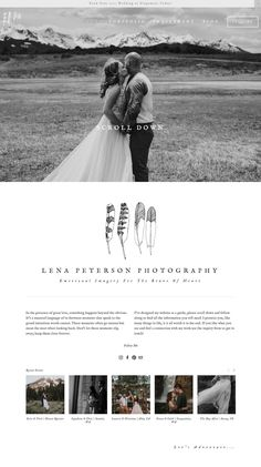 In need of website design ideas to get started designing yours or your client's. Squarespace site? Check out the Squarespace design inspiration and template example series happening over on the blog! This week, photography website edition! #Squarespace #webdesign #webdesignideas #websiteideas #squarespaceinspiration #websiteinspiration #squarespacedesign Website Design Inspiration, Wedding Design Inspiration, Layout Inspiration, Design Websites, Web Design Services, Wedding Website Design, Wedding Designs, Wedding Website Examples, Wedding Ideas