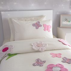 Let there be spring with this duvet cover that is designed with the thought of prosperity, from Lullaby Gigi.  It will brighten your day and elevate your mood while making your room look cuter.