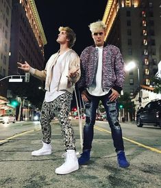 Logan and his little brother Jake Paul
