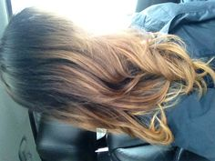 Ombre Hair Brown to Blonde : Love!