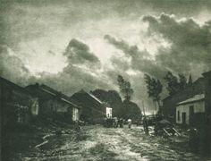 Nuées by Léonard Misonne 1908