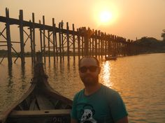 Sunset at U Bein Bridge, Burma (Myanmar) 2014 by www.thewisenomad.com   #Mandalay #Sunset #Sunsets #Burma #Myanmar  #Travel #Asia #SEAsia #Travelpics #rtw #travelblog #backpacker #backpacking #flashpacker #culture #trip #tourist #tourism #vacation #traveling