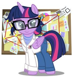 Rainbow Rocks Science Twilight by PixelKitties.deviantart.com on @deviantART