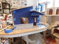 Shenandoah & Stuff: Dry Fit With Roof