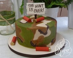 hunting theme groom's cake | Flickr - Photo | http://deliciouscakecollections.blogspot.com