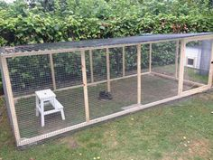 Start of hanging the wall netting Outdoor Rabbit Run, Outdoor Rabbit Hutch, Indoor Rabbit, Rabbit Hutch And Run, Large Rabbit Hutch, Rabbit Hutches, Rabbit Fence, Rabbit Cages, Rabbit Toys